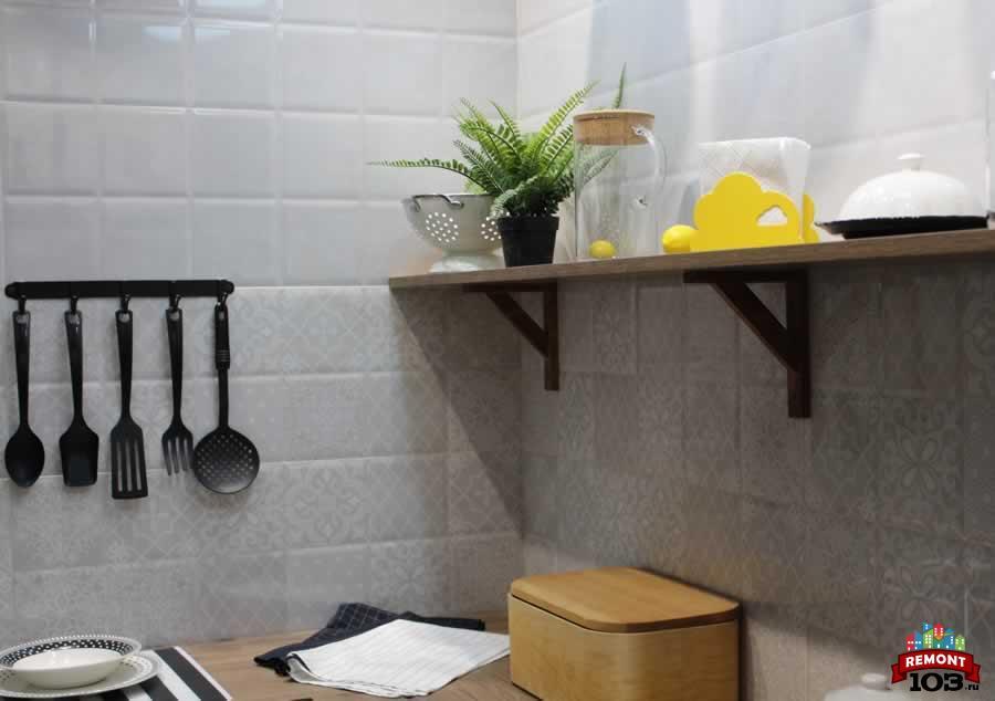 Отделка и ремонт небольшой кухни